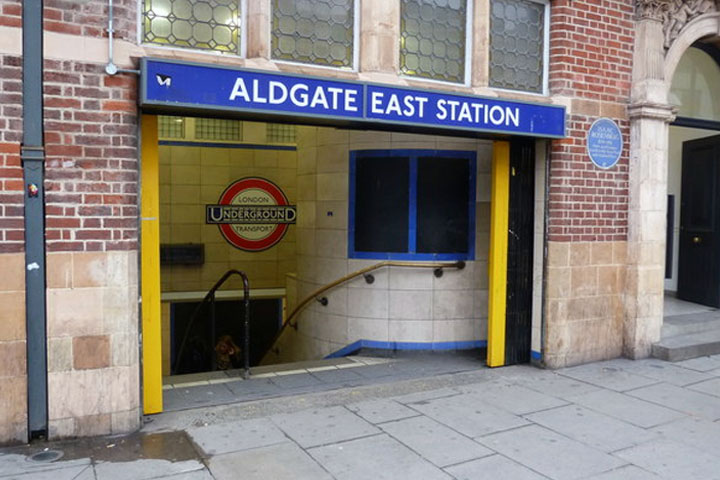 History of Aldgate East