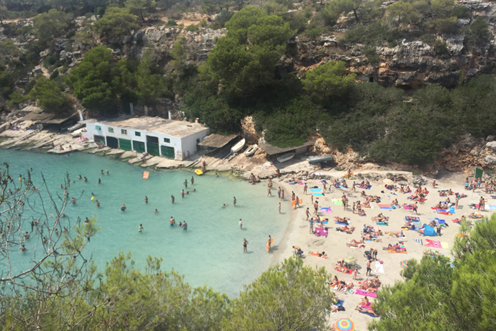 Majorca beach holiday