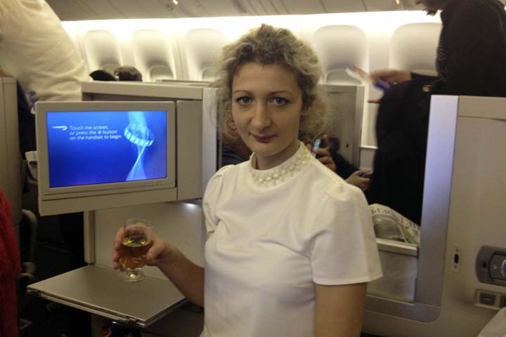 What it is Like to Fly Business Class or First Class with British Airways