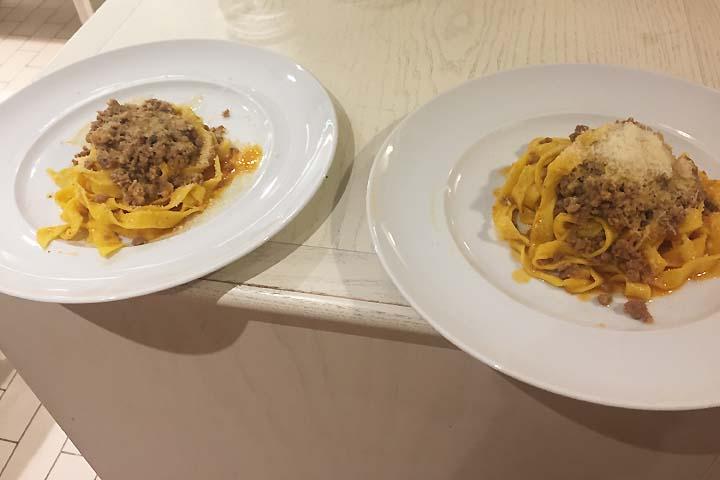 Italian pasta making