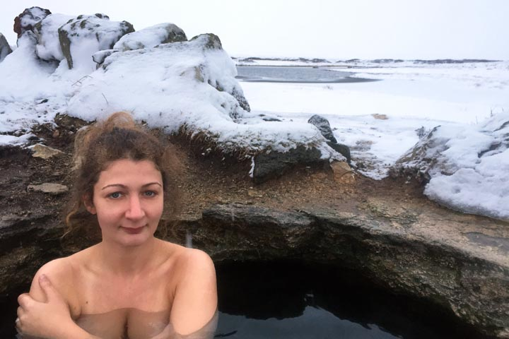 Hot Pools to visit in Southwest Iceland during Winter