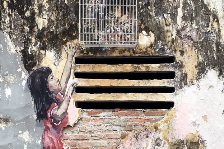 Ipoh and The Art of Old Town by Ernest Zacharevic