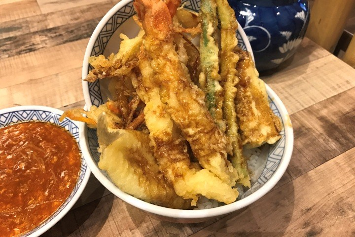 Singapore Chilli Crab Tendon at Don Meiji, Ramen Champion