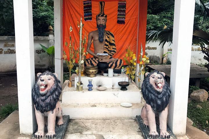 Muang Ngoy buddhist temple
