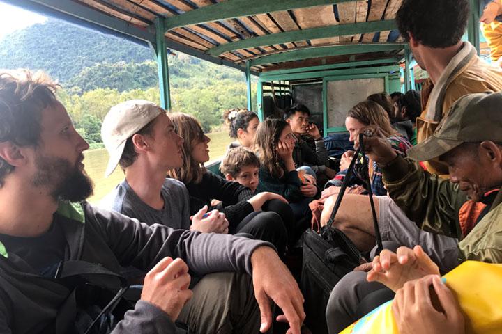 Muang Ngoy riverboat Laos