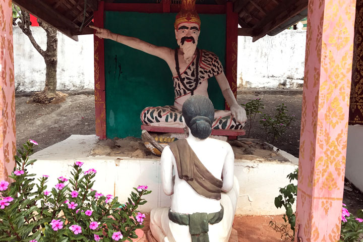 long weekend in luang prabang temple
