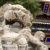 Zhong Ling Can Shi Temple Harbin Heilongjiang China Lion Statue