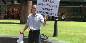 PM Resign Lee Terrex Conspiracy Singapore Raffles Place