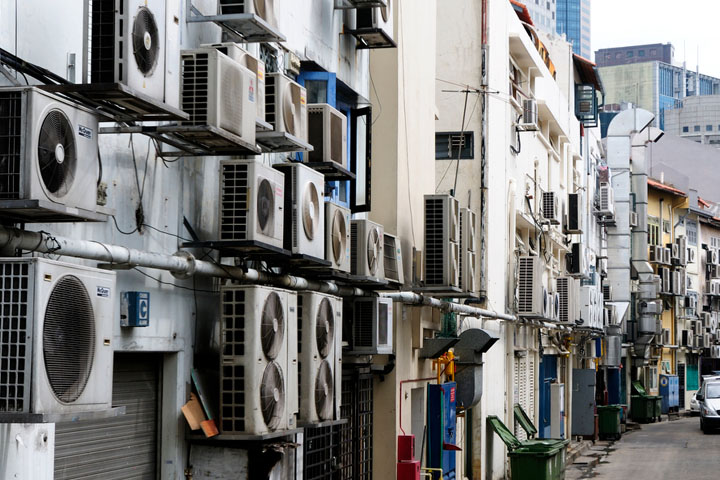 Singapore's unhealthy obsession with air conditioning
