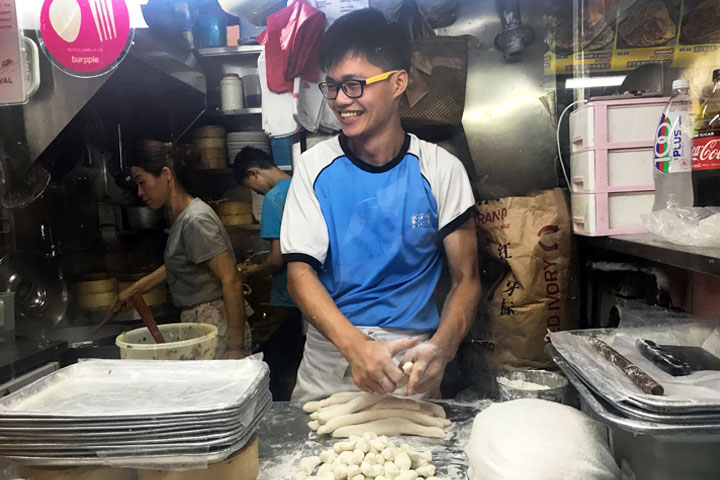 Authentic Chinese dumplings worth queuing for at Zhong Guo La Mian Xia Bao