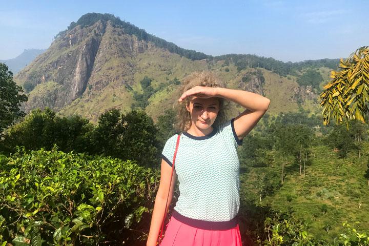 Small Adam's Peak and the Nine Arches Bridge in Sri Lanka
