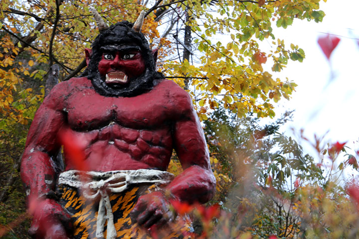 The Demons of Hell Valley in Noboribetsu are a laid back bunch