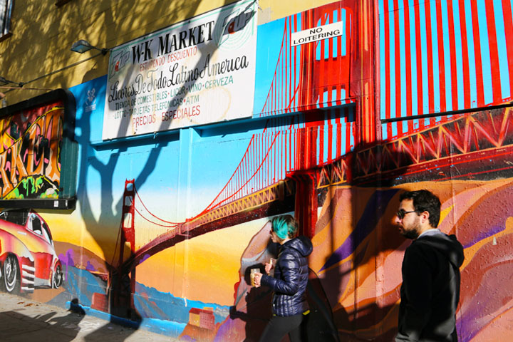 Looking for Tacos and Discovering Music, Art & Literature in the Mission