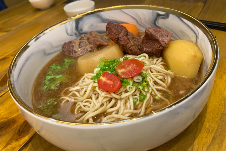 Beef stew at Easy Noodle