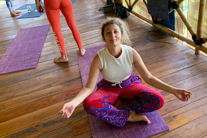I survived Flowers & Fire yoga on Gili Air (as a semi-retired yogi)