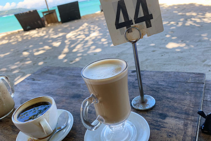 coffee on Gili Air