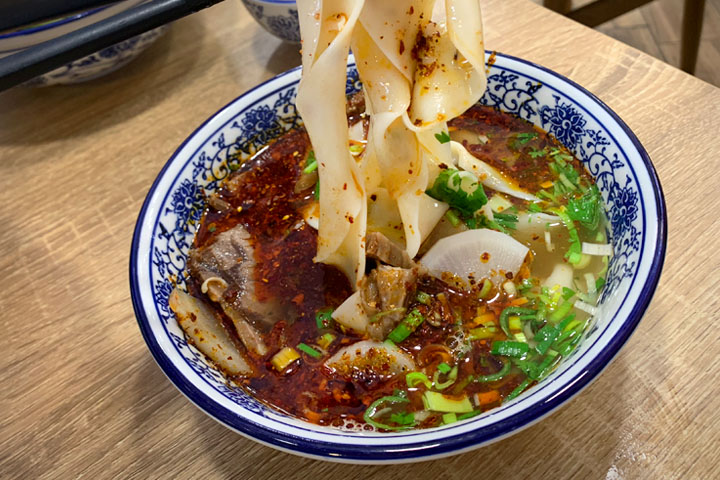 Tongue Tip Lanzhou Beef Noodle
