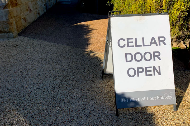 Cellar Door Open