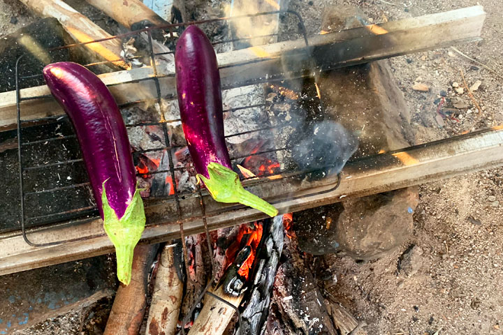 A Belitung lesson in fishing, farming and cooking eggplant!