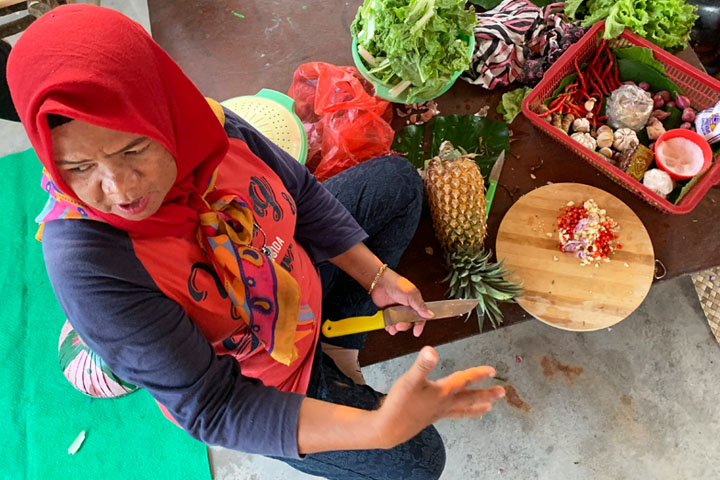 Belitung cooking lesson