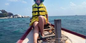Belitung at the boat