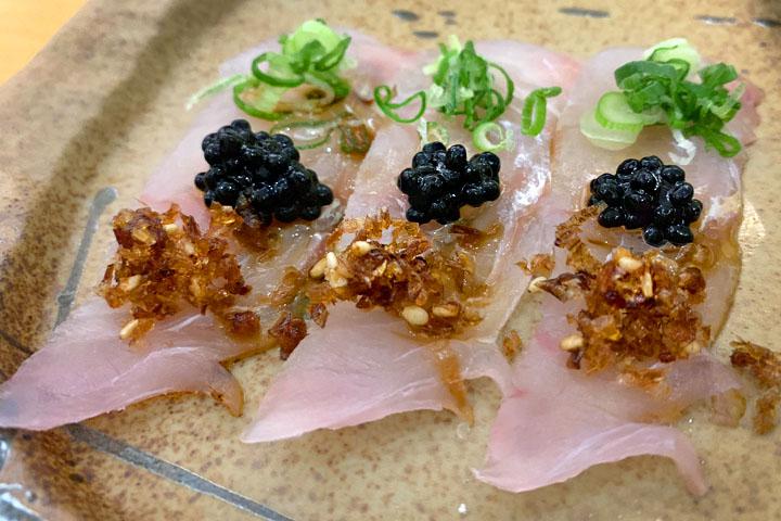 Flounder sashimi, truffle caviar and other wonders at Mizuya Omakase