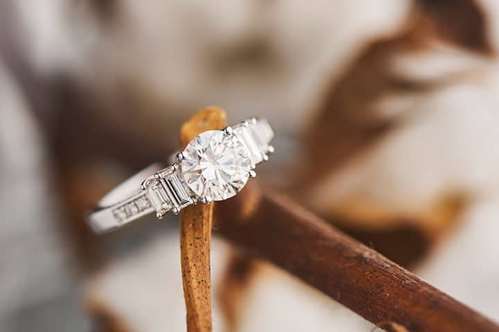 The most beautiful engagement ring in Singapore