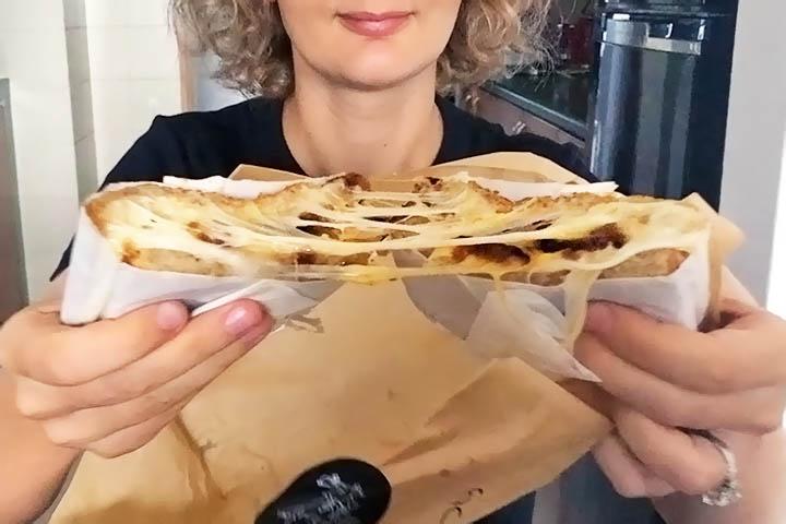 Korio cheesy sandwiches