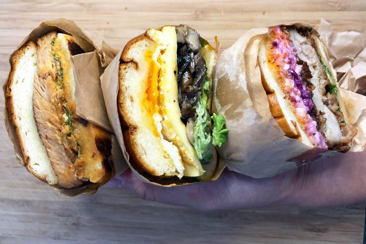 Sando Japanese Inspired Sandwiches Take-Away Edition